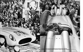 Featured image is reproduced from <i>Mercedes-Benz 300 SLR</i>.