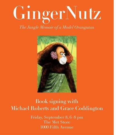 Michael Roberts & Grace Coddington present 'GingerNutz' at The Metropolitan Museum.