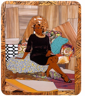 "Featured image, ""I Learned the Hard Way"" (2010) is reproduced from <I>Mickalene Thomas: Origin of the Universe</I>."