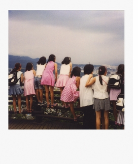 "Featured Polaroid, ""Untitled (Seoul),"" (2008) is reproduced from <a href="" 9780982365311.html"">Mike Slack: Pyramids</a>."