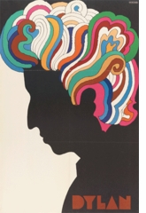 """Milton Glaser: """"Dylan,"""" iconic poster for Capitol Records, 1966"""