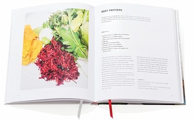 Mina Stone: Cooking for Artists, Beet Fritters