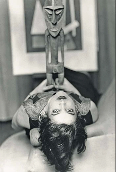 Modern Taste: Art Deco in Paris 1910-1935, Simone Kahn, Man Ray 1926 portrait