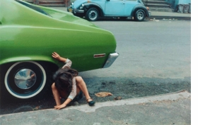 "Helen Levitt's ""Squatting Girl/Spider Girl, New York"" (1980)  is reproduced from <I>Modern Times</I>."