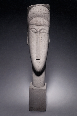 "Featured image, Amedeo Modigliani's <i>Head of a Woman</i>, 1911, from the Minneapolis Institute of Arts, donated by Mr. and Mrs. John Cowles is reproduced from <a href=""9788836618873.html"">Modigliani Sculptor</a>."