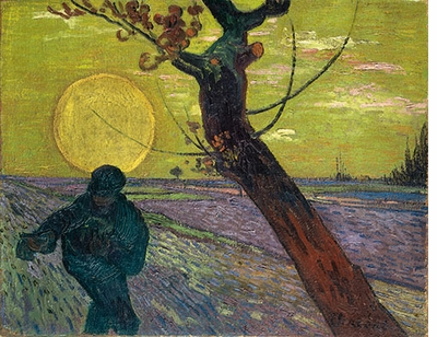 "Monet, Gauguin, Van Gogh … Japanese Inspirations: Vincent Van Gogh, ""Sower with Setting Sun"""