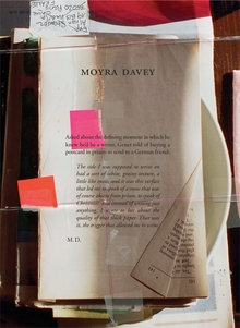 Moyra Davey: Burn the Diaries