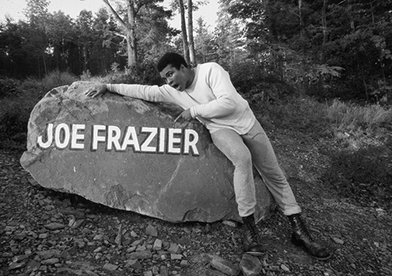 Muhammad Ali: Fighter's Heaven 1974, Joe Frazier rock