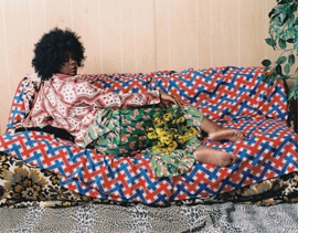 Featured image is reproduced from <I>Mickalene Thomas: Photographs</I>.