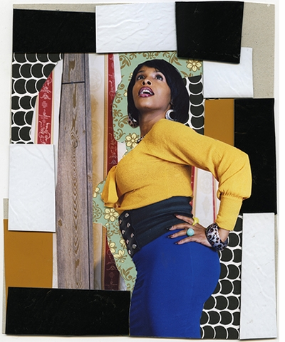 Muse: Mickalene Thomas Photographs, Don't Forget About Me (Keri)