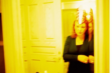 Nan Goldin: Diving for Pearls, Self-portrait on New Year's Eve