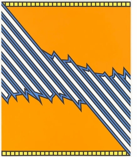 "Featured image, ""Greensboro"" (1975), by Nicholas Krushenick, is reproduced from <a href=""9780982974735.html"">A Survey</a>."