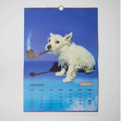 Now's the time to get your 2018 Toilet Paper monthly calendar!