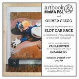 Oliver Clegg Slot Car Race & Book Launch at Artbook @ MoMA PS1