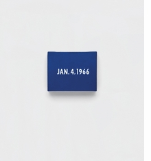 On Kawara: Date Paintings in New York and 136 Other Cities