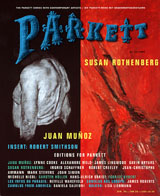 Parkett No. 43 Juan Munoz, Susan Rothenberg