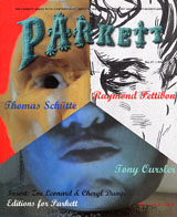 Parkett No. 47 Tony Oursler, Raymond Pettibon, Thomas Schutte