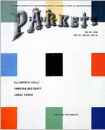 Parkett No. 56 Vanessa Beecroft, Ellsworth Kelly, Jorge Pardo