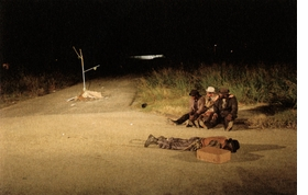 """Featured image documents Paul Chan's staging of <I>Waiting for Godot</I>, reproduced from <a href=""""9783865608093.html"""">Waiting for Godot in New Orleans</a>."""