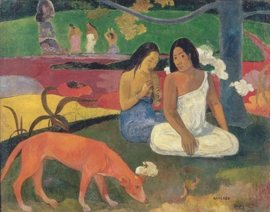 Featured image is reproduced from <I>Paul Gauguin</I>.