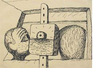 "Philip Guston: ""Untitled"" (1975)"