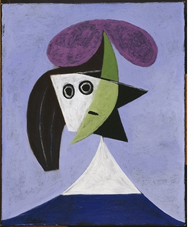 Featured image is reproduced from 'Picasso Portraits.'