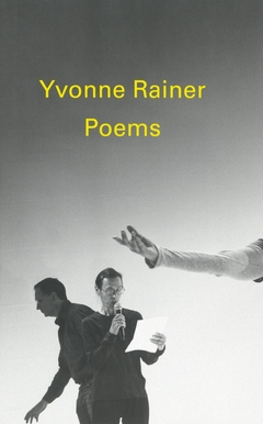 Poems by Yvonne Rainer