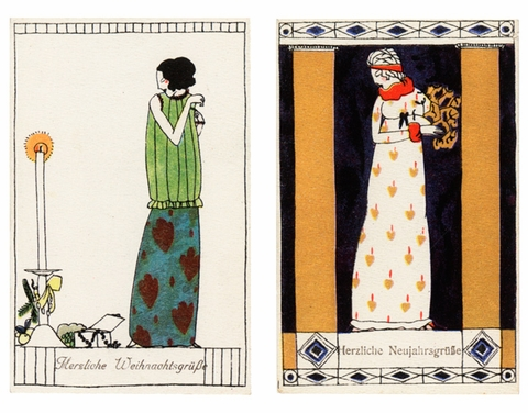 Postcards of the Wiener Werkstätte: At First Sight