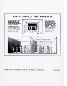 Public Space, Two Audiences: Works and Documents from the Herbert Collection