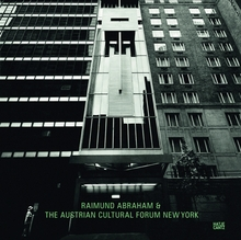 Raimund Abraham & The Austrian Cultural Forum New York