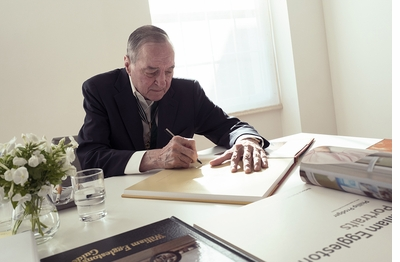 Rare William Eggleston Signing at The Strand