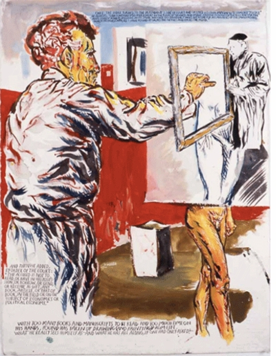 "Raymond Pettibon: ""No title (Once the judge)"" (2006)"