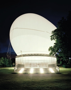 Rem Koolhaas and Cecil Balmond with Arup: Serpentine Gallery Pavilion 2006