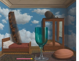 """Personal Values"" (1952) is reproduced from 'René Magritte The Fifth Season.'"