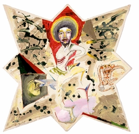 "Featured image, a 1976 mixed media work entitled ""Love to Love You Baby (Jimmy Hendrix)"" by Mike Kelley, is reproduced from <a href=""9780983719908.html"">Return of the Repressed: Destroy All Monsters 1973-1977</a>, <a href=""gift-guide.html"">PictureBox's</a> new archive of photographs, drawings, prints and paintings produced by the influential Detroit collective (Mike Kelley, Cary Loren, Niagara and Jim Shaw)."