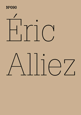 Éric Alliez: Diagram 3000 (Words)