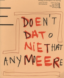 Rik Meijers: Don't do that Anymore