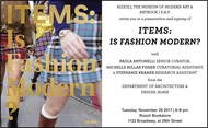 Rizzoli presents 'Items: Is Fashion Modern?' with Paola Antonelli