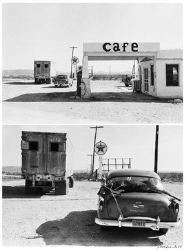 Featured image is reproduced from <I>Robert Frank: Hold Still, Keep Going</I>.