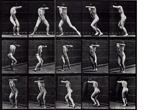 "Featured image, Edward Muybridge's <i>Turning Around in Suprise and Running Away</i>, 1887, is reproduced from <a href=""http://www.artbook.com/9788836620005.html"">Rodin and America</a>."