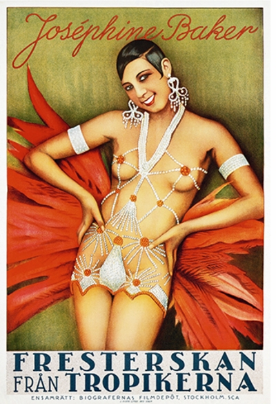 Separate Cinema: The First 100 Years of Black Poster Art, Josephine Baker