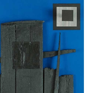 "Featured image, a detail of ""Blue and Black Log"" (1960), is reproduced from <I>Soto: Paris and Beyond, 1950-1970</I>."