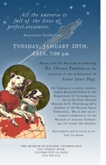 Soviet Space Dogs Launch Event at Museum of Jurassic Technology