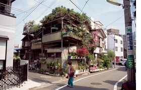 """Featured image of a plant-filled house in Japan is reproduced from the Community Gardening chapter in <a href=""""http://www.artbook.com/9780956356291.html"""">Spirit: Garden Inspiration</a>. Dan Pearson writes, """"As I traveled further afield, I started to take note. I found people tending less than a few feet in alleyways in Tokyo; one little garden running into the next in a chain reaction that eventually greened the street."""""""