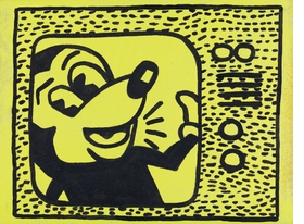 "Featured image, ""Haring Tag July 15, 1981"" (1985), is reproduced from <I>Sturtevant: Double Trouble</I>."