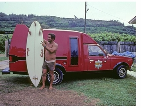 Featured image is reproduced from <I>Surfing Photographs from the Eighties Taken by Jeff Divine</I>.