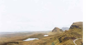 """Quiraing 1, Isle of Skye"" (2007) is reproduced from <I>Sze Tsung Leong: Horizons</I>."