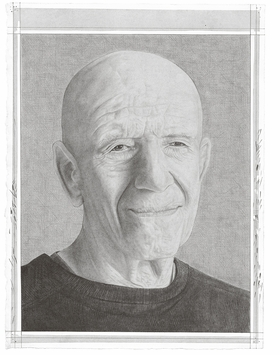 Featured portrait of Alex Katz, by Phong Bui, is reproduced from 'Tell Me Something Good.'