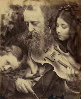 "Featured image, ""Whisper of the Muse"" (1865), is reproduced from <I>Tennyson and His Circle</I>."