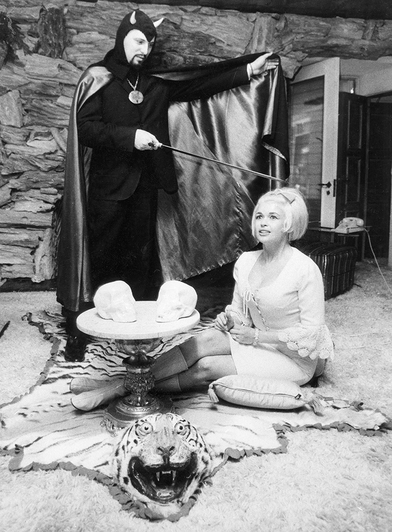 Can't do better than 60s Celebrity Satanism for Halloween 2017